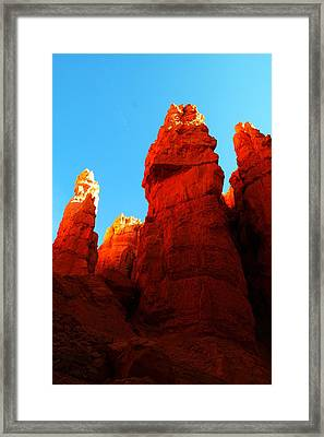 In Shadows Where The Gods Wander Framed Print by Jeff Swan