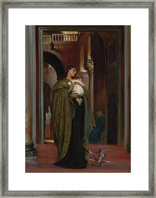 In St Mark's Framed Print by Frederic Leighton