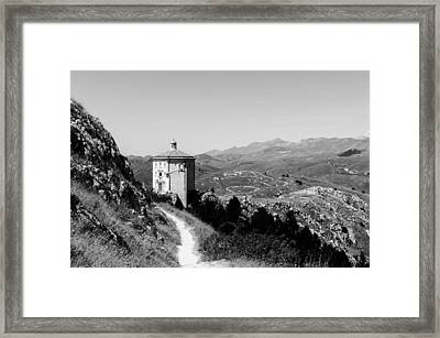 In That Quiet Earth Framed Print by Andrea Mazzocchetti