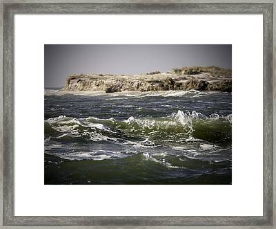 In The Breach Framed Print by Vicki Jauron