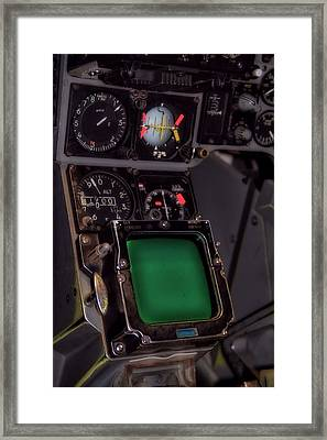 In The Cockpit Framed Print by Dan Sproul