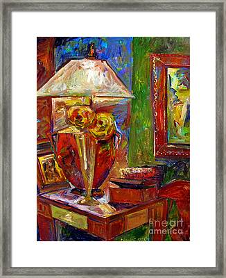 In The Corner Of My Studio Framed Print by Charlie Spear