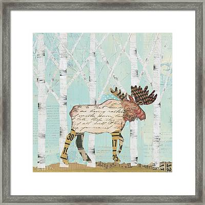 In The Forest I Framed Print by Courtney Prahl