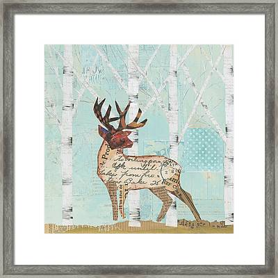 In The Forest IIi Framed Print by Courtney Prahl
