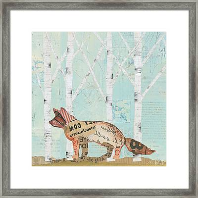 In The Forest Iv Framed Print by Courtney Prahl