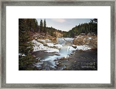 In The Frosty Forests Framed Print by Evelina Kremsdorf