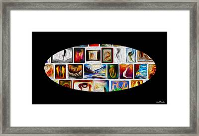 In The Gallery Pass Two Framed Print by Sir Josef Social Critic - ART