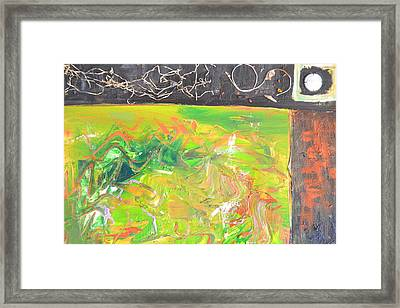 In The Garden Framed Print by Robert Daniels