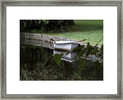 In The Good Old Summer Time Framed Print by Kurt Gustafson