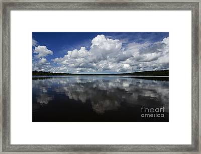 In The Good Old Summertime  Framed Print by Bob Christopher