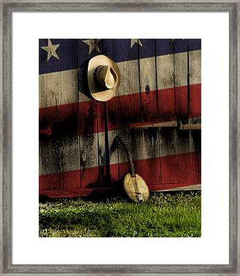 In The Heart Of America Framed Print by Bill Cannon