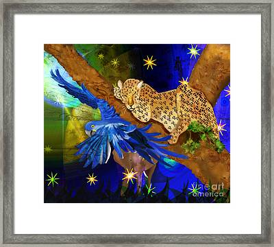 In The Jungle Framed Print by Sydne Archambault