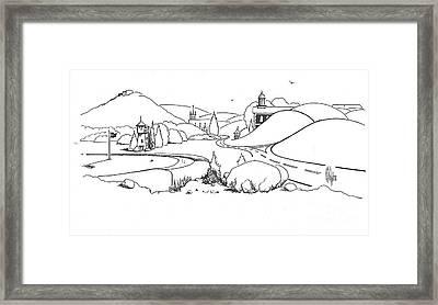 In The Land Of Brigadoon  Framed Print by Kip DeVore