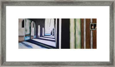 In The Mind Framed Print by Jose Benavides