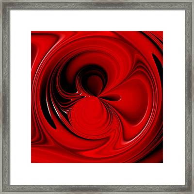 In The Mix Framed Print by Wendy J St Christopher