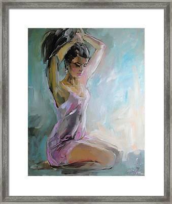 In The Morning Framed Print by Nelya Shenklyarska