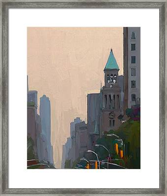 In The New York City Mountains Framed Print by Nop Briex