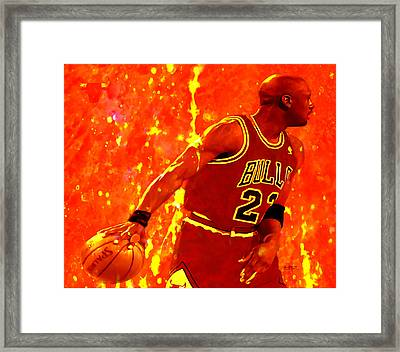 In The Paint Framed Print by Brian Reaves