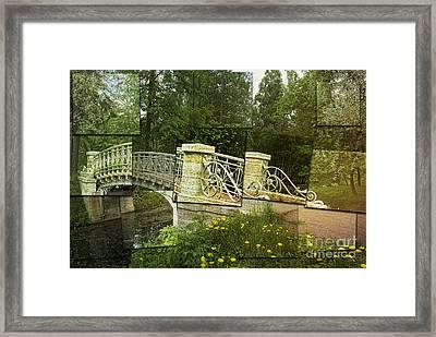 In The Park Framed Print by Elena Nosyreva