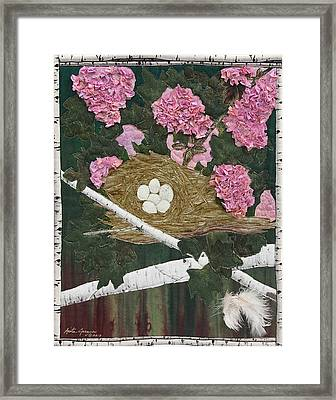 In The Pink Framed Print by Anita Jacques