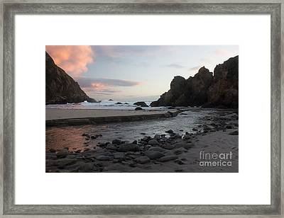 In The Pink Framed Print by Suzanne Luft