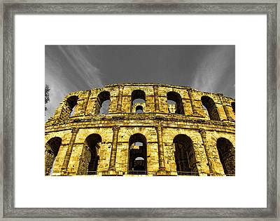 In The Shade Of Time Framed Print by Dhouib Skander