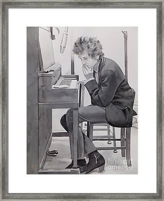 In The Studio Framed Print by Robert Hooper