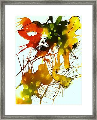 In The Wild Framed Print by Ellen Levinson
