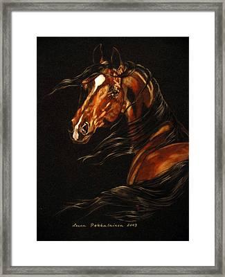 In The Wind Framed Print by Leena Pekkalainen