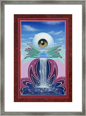 In The Wink Of An Eye Framed Print by Alan Johnson