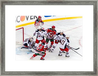 In The Zone Framed Print by David Rucker