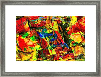 In Times Of Stress ... Framed Print by Gwyn Newcombe