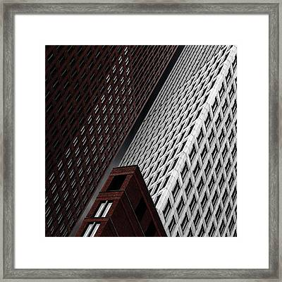 In Tribulation Framed Print by Gilbert Claes