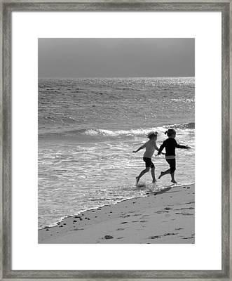 In Unison  Framed Print by Brooke Ryan