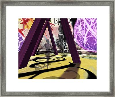 In Waiting 3-3-12 7 Framed Print by Thomas Griffith