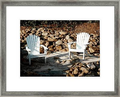 In Waiting Framed Print by James C Thomas