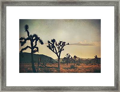 In Your Arms As The Sun Goes Down Framed Print by Laurie Search