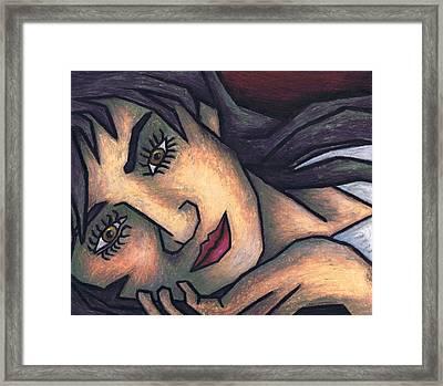 In Your Eyes Framed Print by Kamil Swiatek