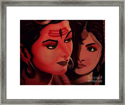 In Your Light Framed Print by Meenakshi Malhotra