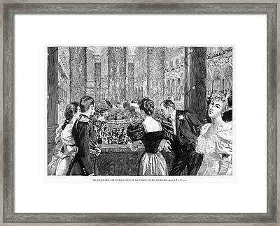 Inaugural Ball, 1893 Framed Print by Granger