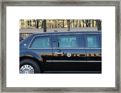 Inauguration Day Framed Print by Mountain Dreams