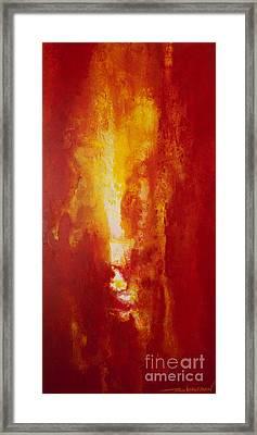Incendie Framed Print by Todd Karleskein