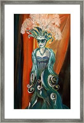 Incognito Framed Print by Anastasiya Malakhova