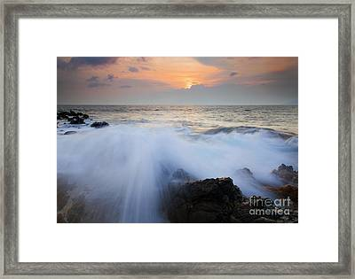 Incoming Framed Print by Mike  Dawson
