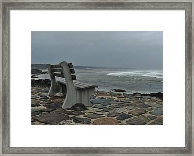 Incoming Tide Framed Print by Joy Bradley