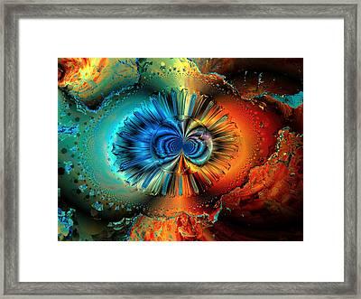 Incomplete Metamorphosis Framed Print by Claude McCoy