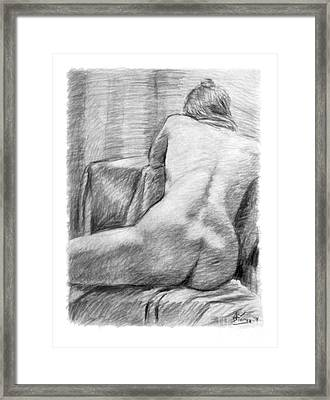 Incongruous Framed Print by Adam Long