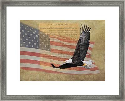 Independence Framed Print by Angie Vogel