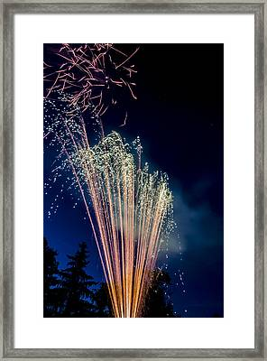 Independence Day 2014 16 Framed Print by Alan Marlowe