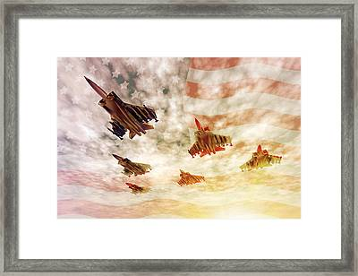 Independence Day Framed Print by Carol and Mike Werner